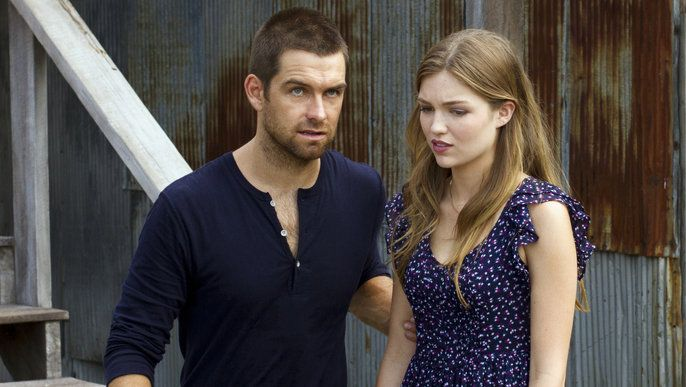 Banshee: Sn 1 / Ep 8 , Anthony Starr as Lucas Hood and Lili Simmons as Rebecca Bowman