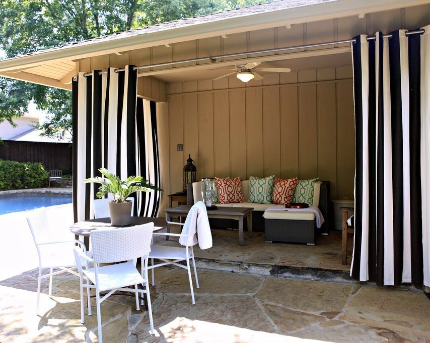 Outdoor Patio Curtains Ideas For Home