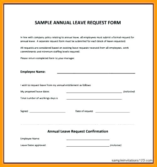 Application Leave Form Online Employee Leave Employee Leave Form Template Employee Leave Forms Annual Template Employee Leave Applicatio Templates Form Request