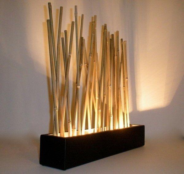 decorative bamboo poles creative lamp design original home lighting