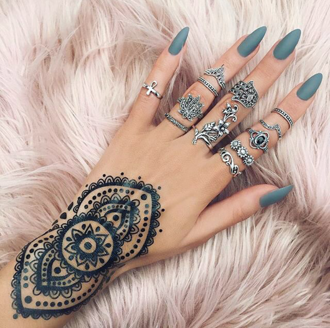 Tribal Henna Tatoo Pinterest Nails Nail Art And Nail Designs
