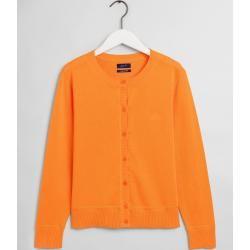 Photo of Gant Rundhals Cardigan (Orange) Gant