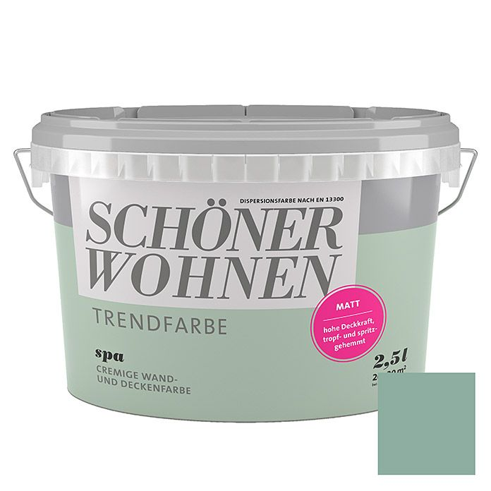 Mint Wandfarbe: Schöner Wohnen Wandfarbe Trendfarbe Limited Collection In