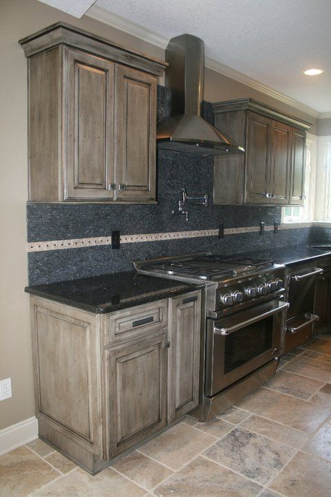 Contemporary with Medallion Appaloosa Finish [Copper River Cabinet ...