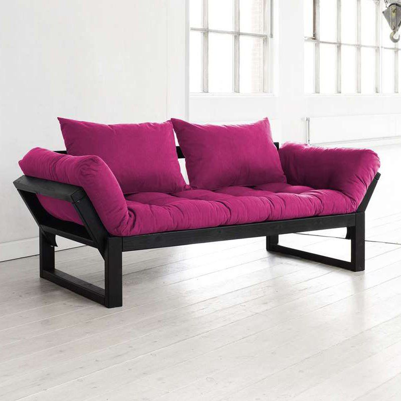 Fresh Futon Edge Black Convertible Futon Sofa | Furniture ideas ...