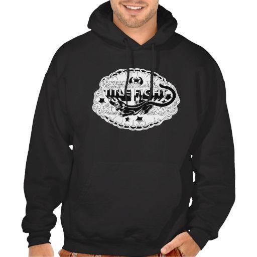 Title Fight Kingston Pa Logo Hoodie Zazzle Com Sweatshirts Hoodie Sweatshirts Hoodies
