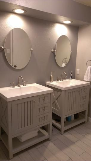 Martha stewart living seal harbor 3025 in vanity in for Martha stewart bathrooms