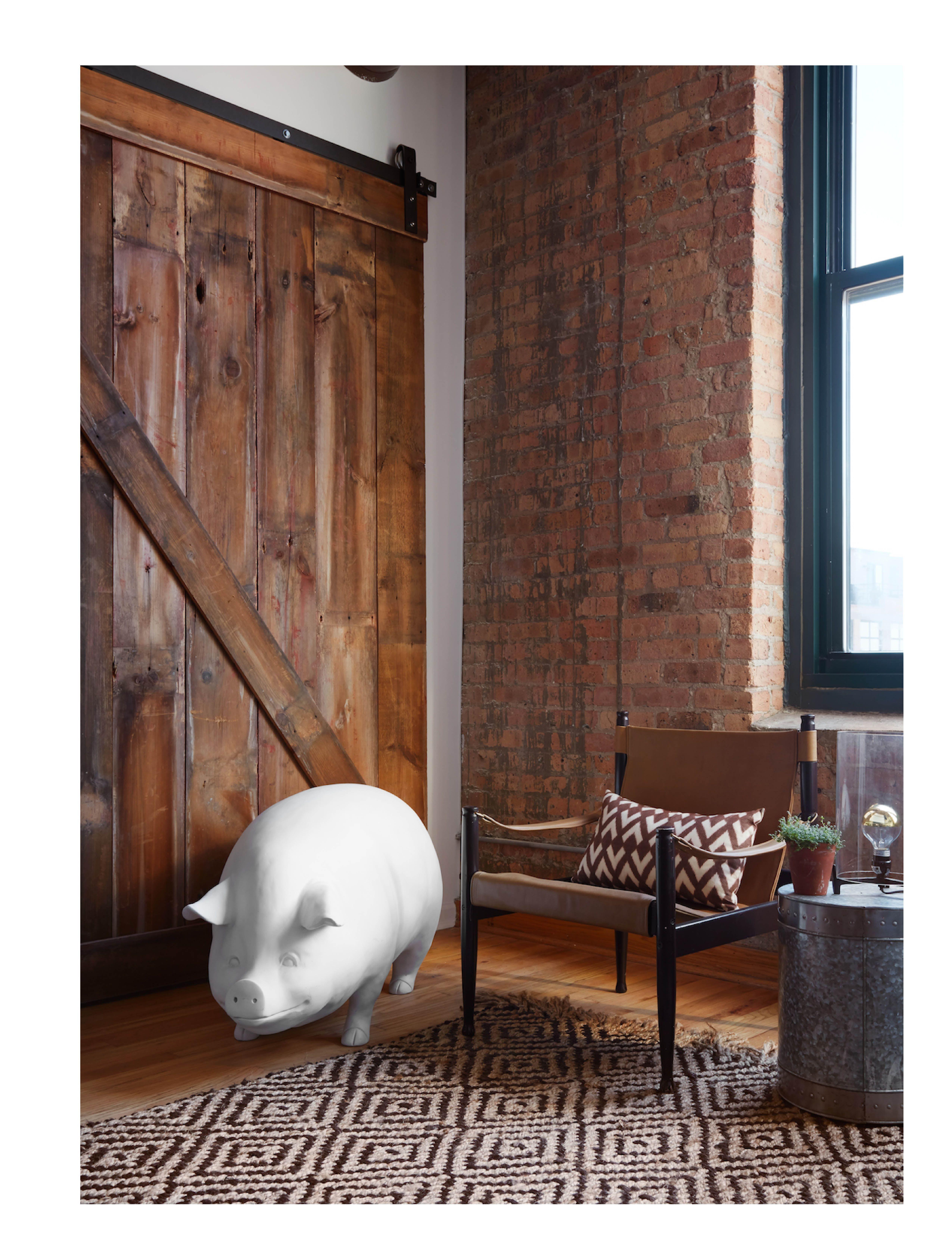West Loop Modern Rustic Loft | Rustic loft, Rustic bedroom ...