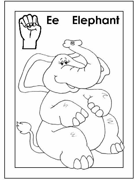 Sign Language Alphabet Free Coloring Pages Apple To Ice Templates Elephant Coloring Pages Elephant Coloring Coloring Pages For Kids Kindergartenworksheets asl coloring pages p