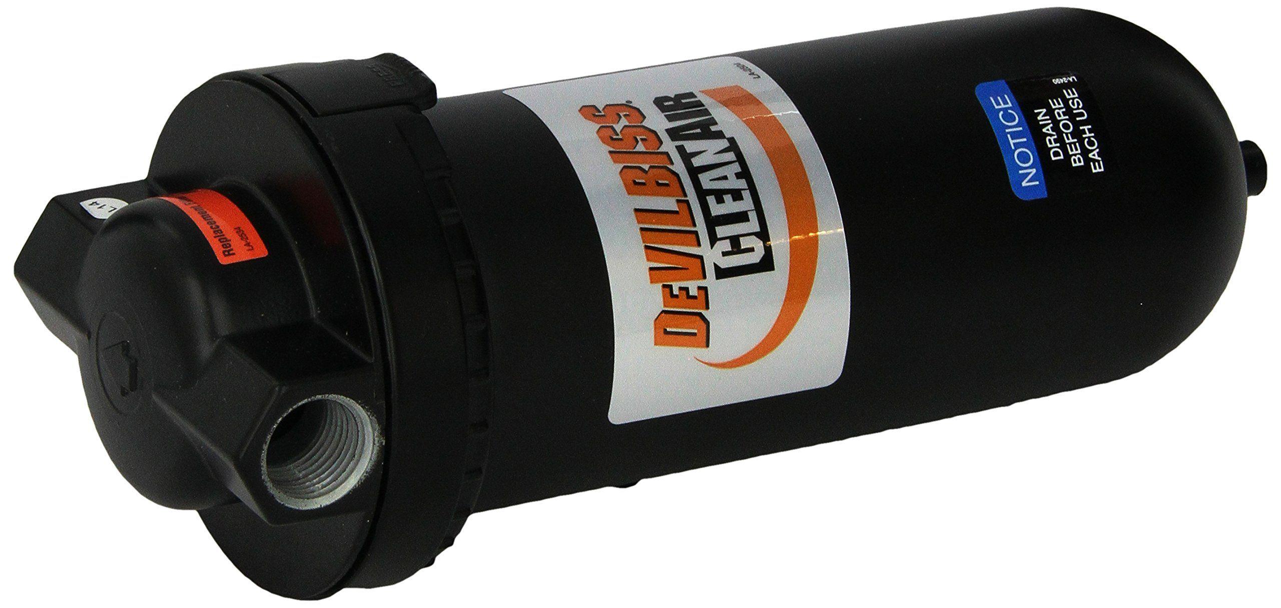 DeVilbiss 130041 100 CFM Air Line Filter You can find