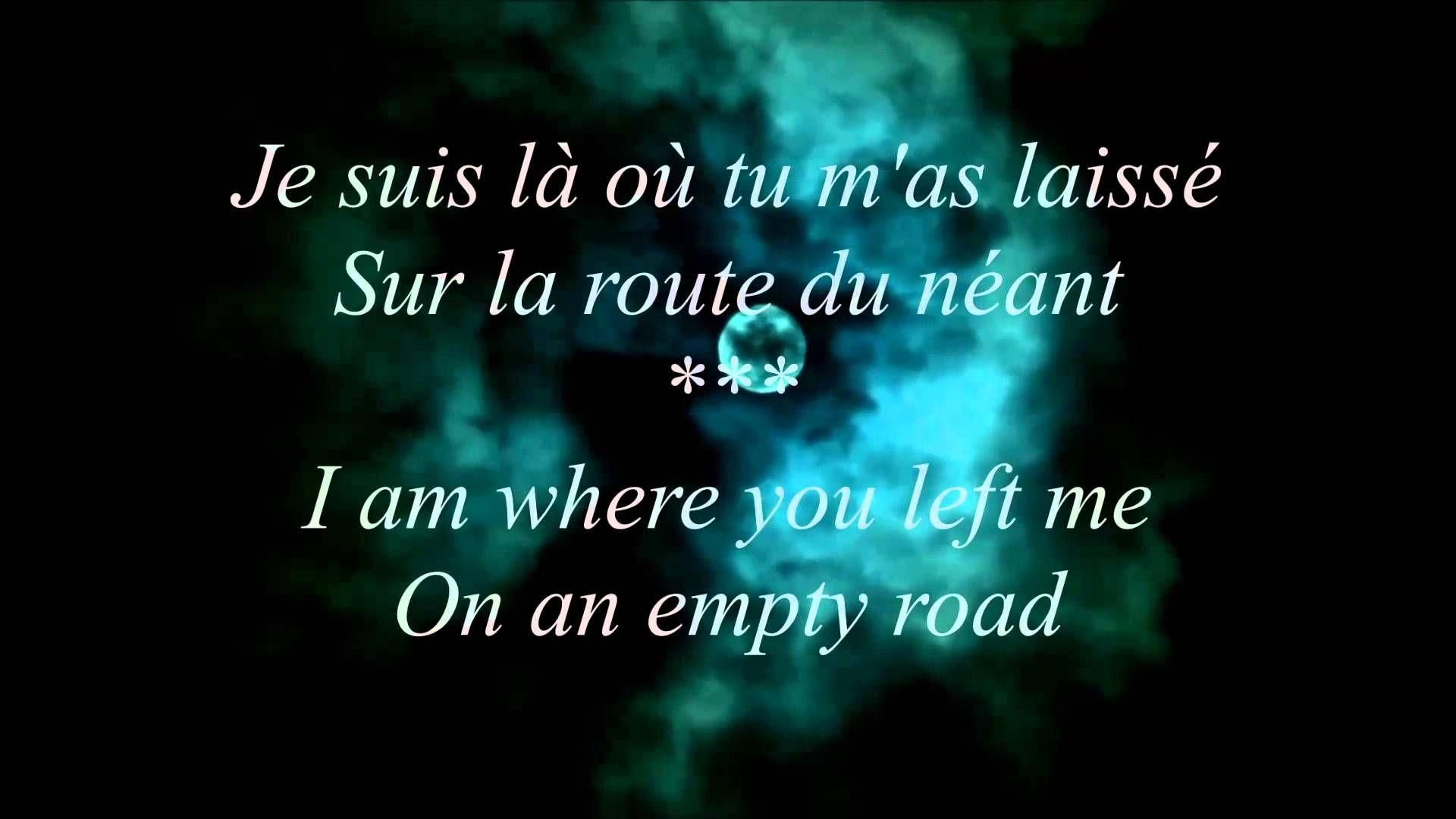 Indila Boite En Argent French And English Lyrics J Ai Garde