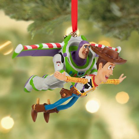 Buzz Lightyear and Woody Sketchbook Ornament | Holiday | Disney Store - Buzz Lightyear And Woody Sketchbook Ornament Holiday Disney
