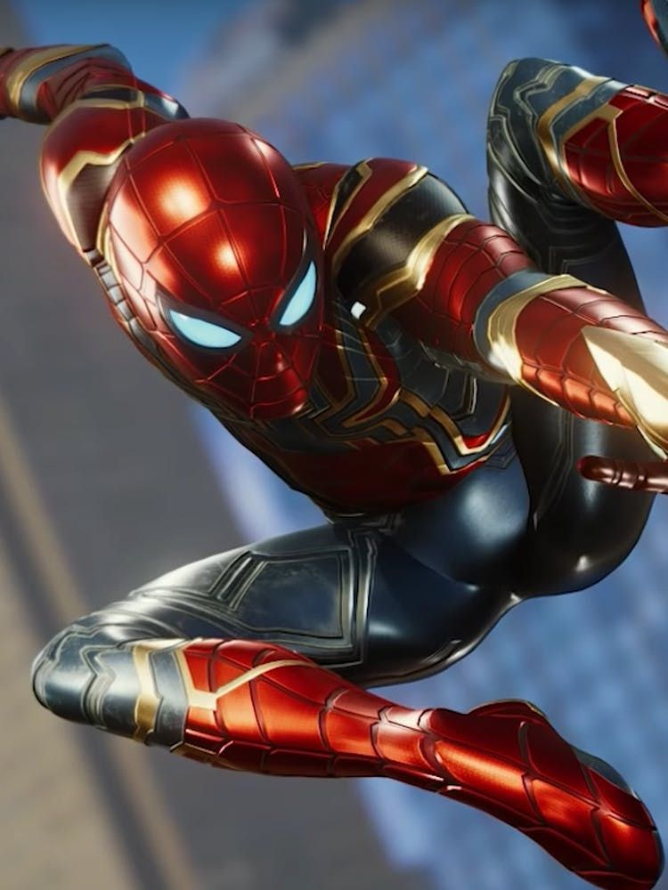 Pin Em Spider Man Ps4