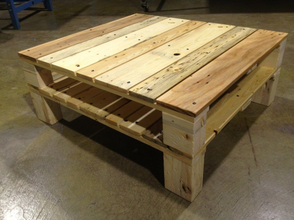 Attirant Reclaimed Pallet Coffee Table | McIntyre Furniture, LLC