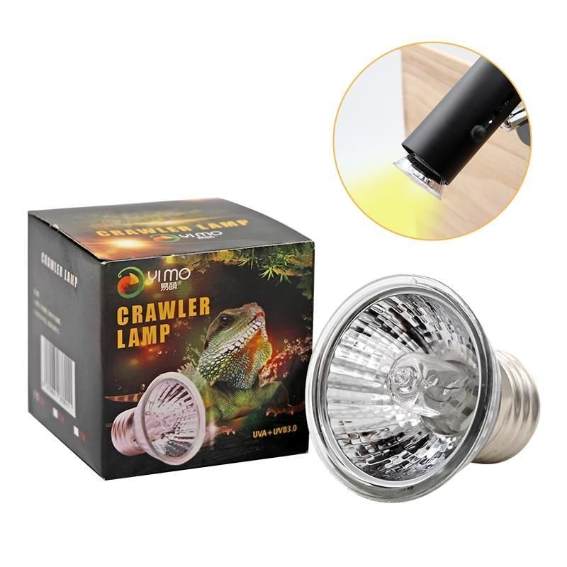 Reptile Lamp 25 50 75w Uva Uvb 3 0 Pet Heat Lamp Bulb Turtle Basking Uv Light Bulbs Amphibians Lizards Temperature Controller Reptile Lamp 25 50 75w Uva Uvb En 2020