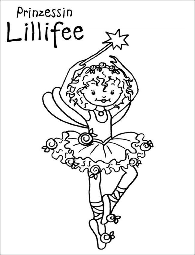 Kleurplaten Prinses Lillifee.Pin Van Eva Gubik Op Lillifee