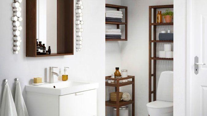 Aménager un coin buanderie dans une petite salle de bains
