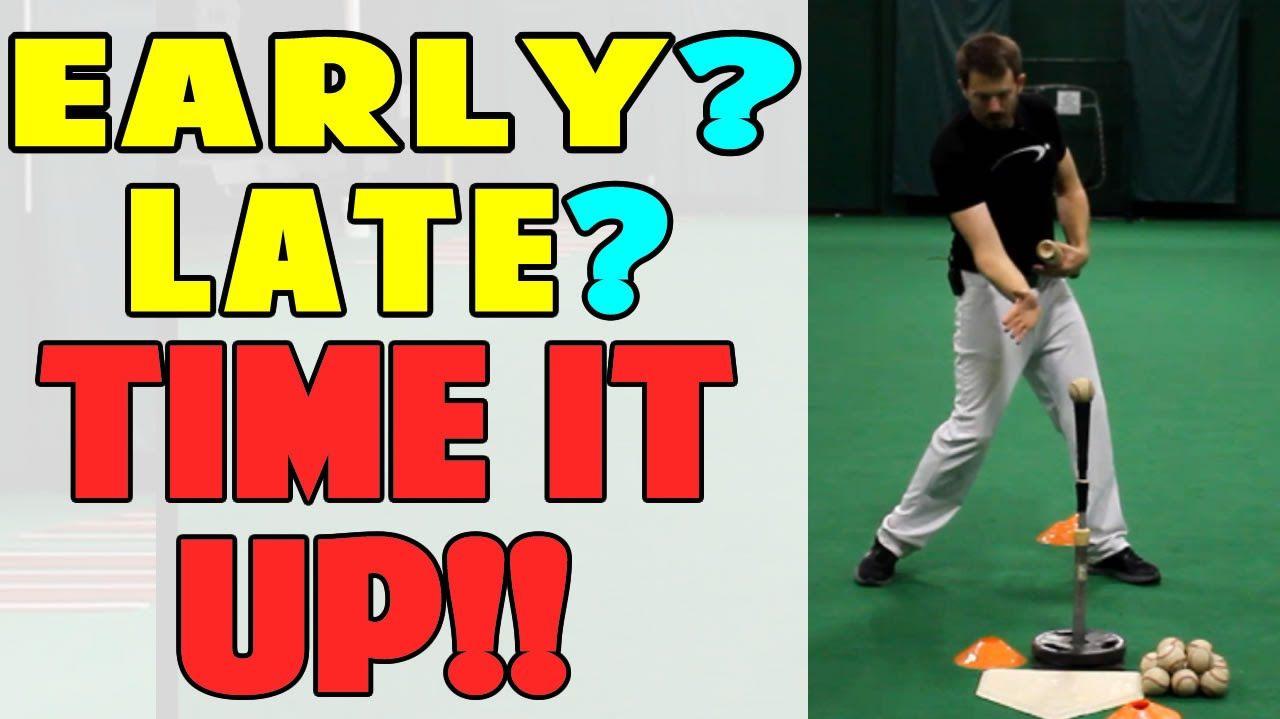 Cone Timing Drill Baseball Hitting Drill Pro Speed Baseball Baseball Hitting Drills Baseball Hitting Play Baseball