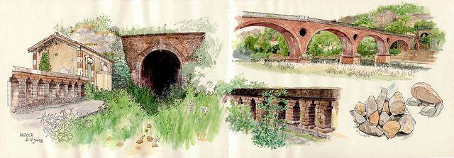 Luzech, Pont ferrovière | Flickr - Photo Sharing!