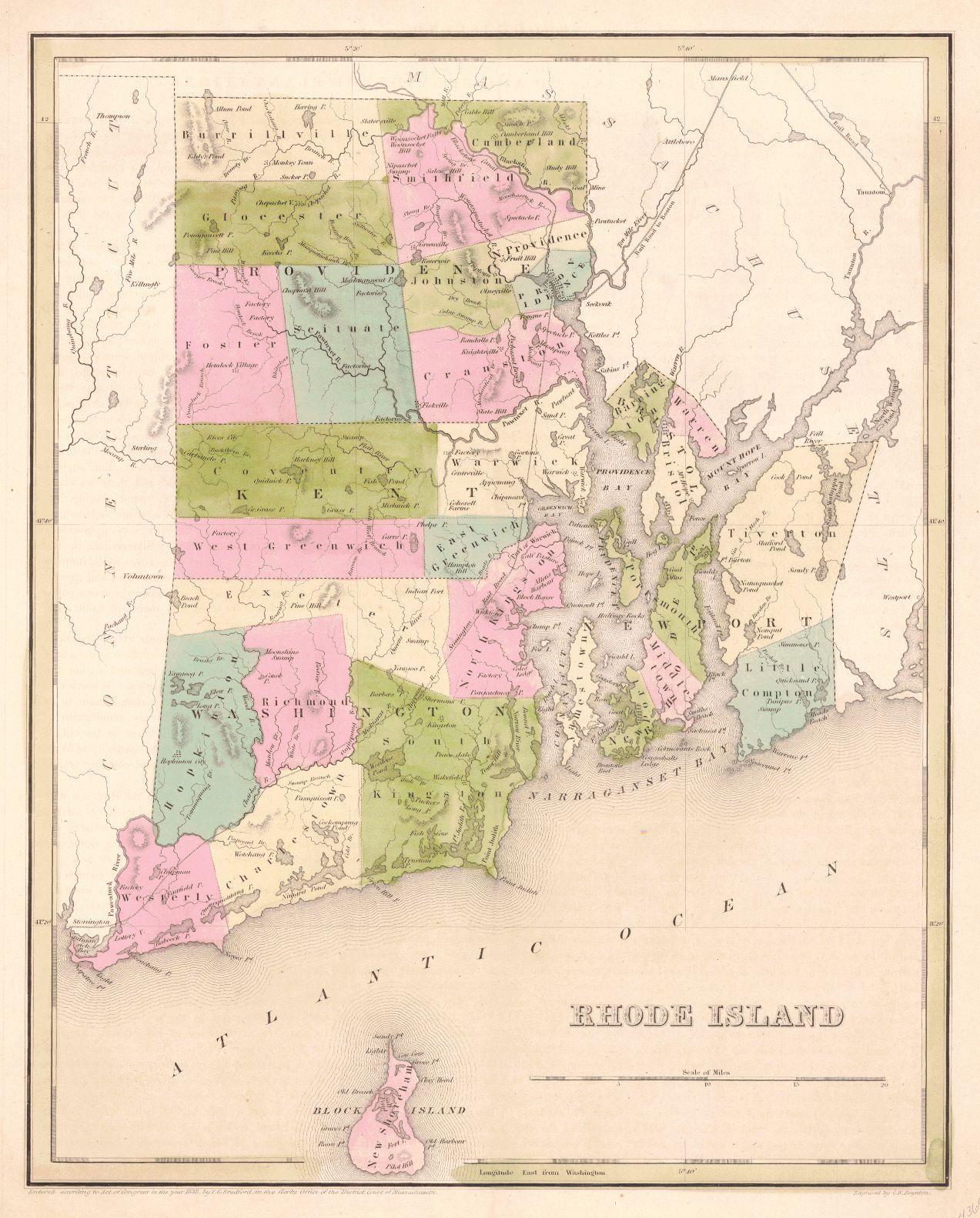 Rhode Island Strong Charles D Bradford TBGoodrich SG 1841