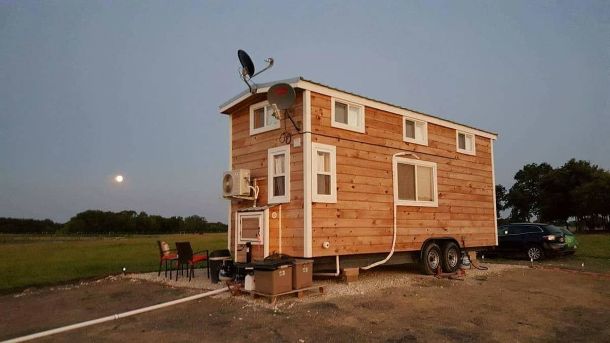 2 Loft Tiny In Dfw 8x21 Tiny House For Sale In Frisco Texas