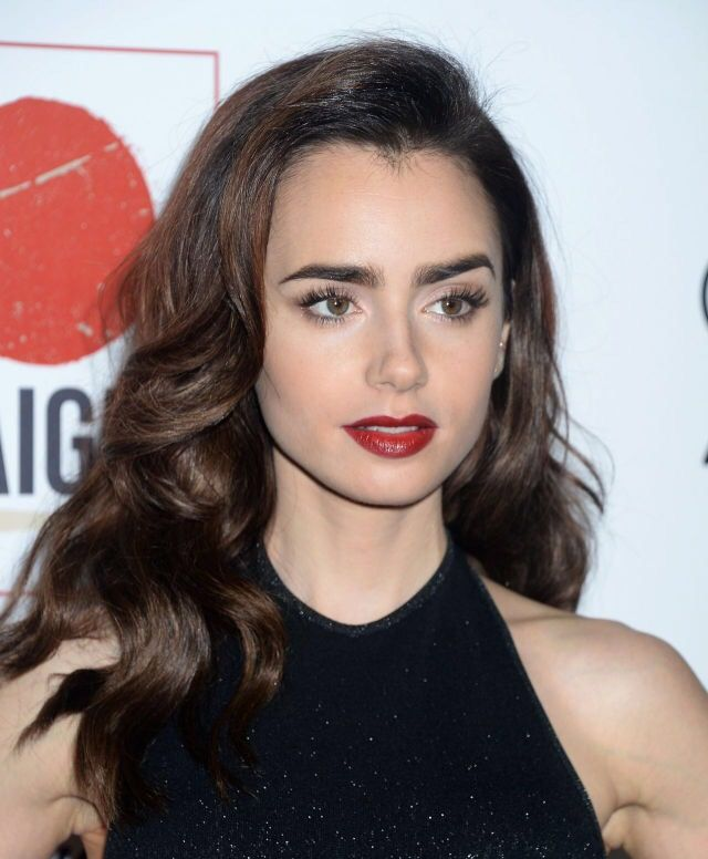 Lily Collins Celebeauty Pinterest Lily Collins And Makeup