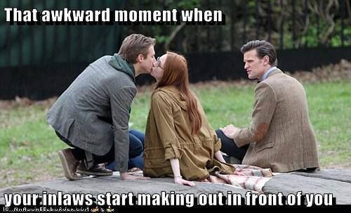 That awkward moment... Free #DoctorWho Newsletter - http://bit.ly/TheWhoMail