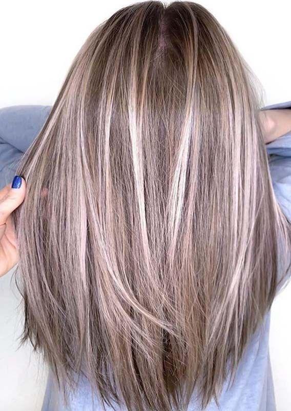 Wonderful Hair Color Ideas For Long Straight Hair In 2019 Voguetypes Long Straight Hair Straight Hairstyles Long Hair Styles