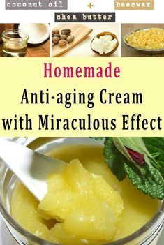 Homemade Anti-aging Cream with Miraculous Effect #health #beauty #diy #fitness #antiagingcream #Anti...