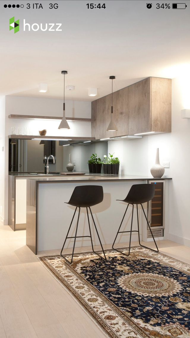 Piccola cucina con bancone | Кухня | Pinterest | Kitchens