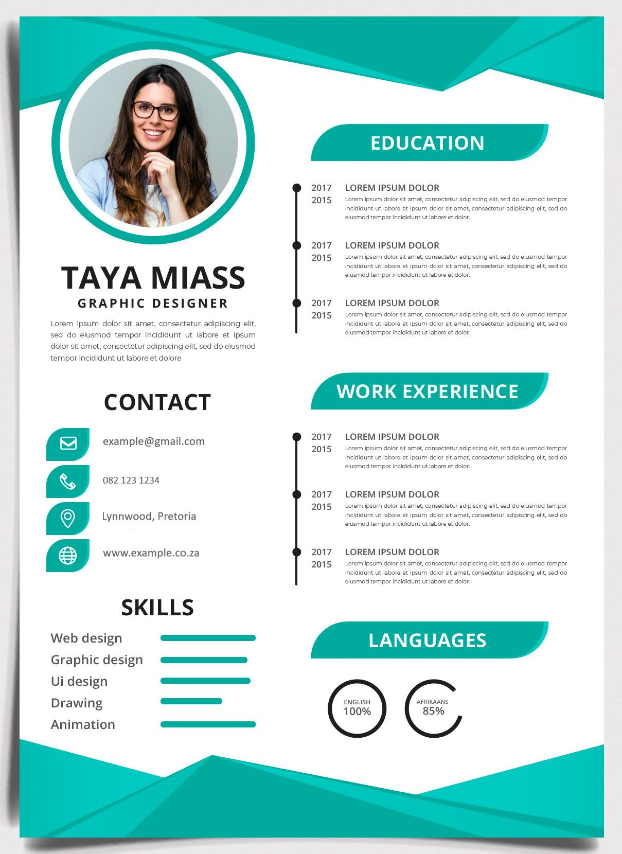 Our howto guide on creating your own CV Job Mail Blog