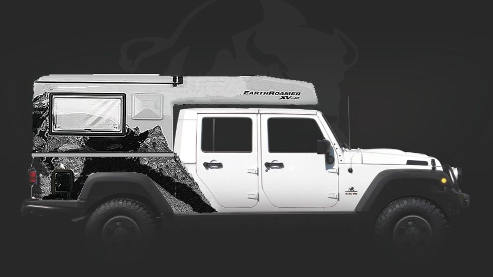 Ultimate Expedition Jeep My Take On An Existing Platform