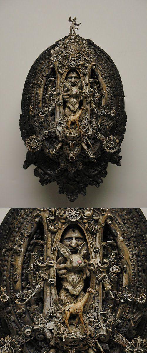 Kris kuksi art pinterest art contemporain cabinet de curiosit et curiosit s - Cabinet de curiosite contemporain ...