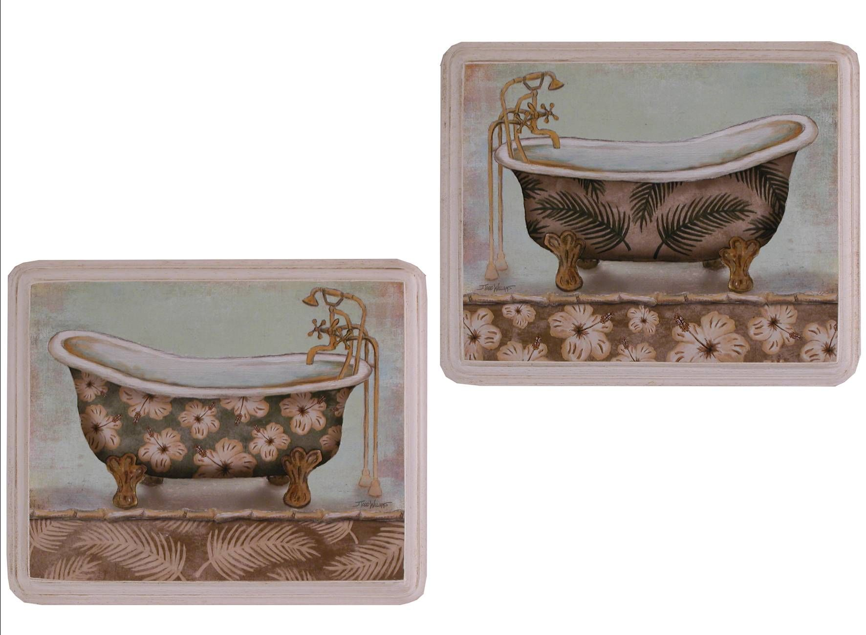 I quadri in legno raffiguranti vasche da bagno stravaganti si ...