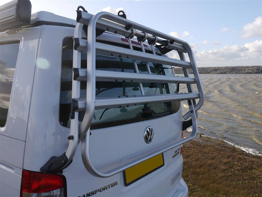 Vw T5 Bike Racks While You Could Carry Your Bikes Inside The Van