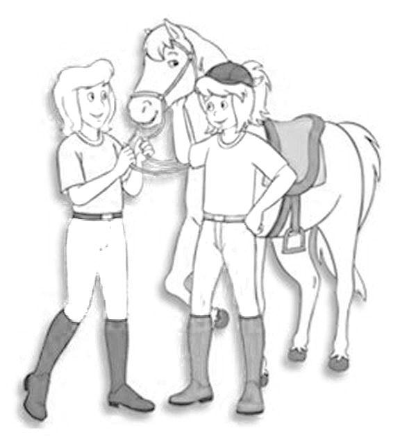 ausmalbilder bibi und tina pferde | schönes für kind 2