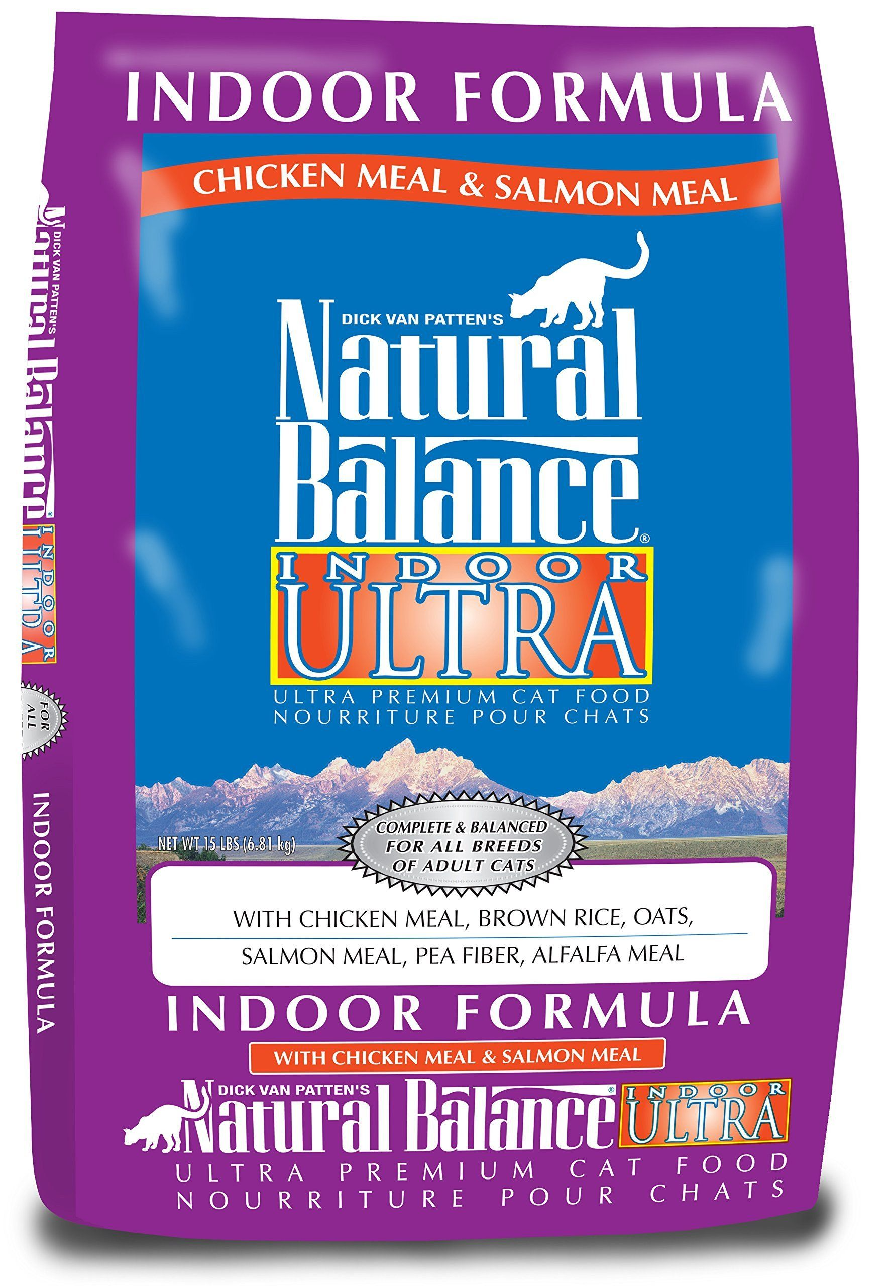 Natural Balance Indoor Ultra Dry Cat Food Chicken Meal