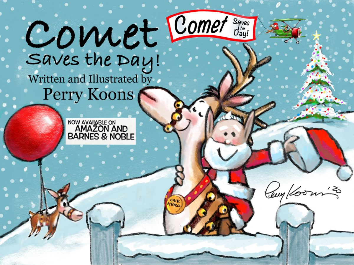 Christmas Comet Photos 2020 Comet Saves the Day!|Hardcover in 2020 | Save the day, Christmas