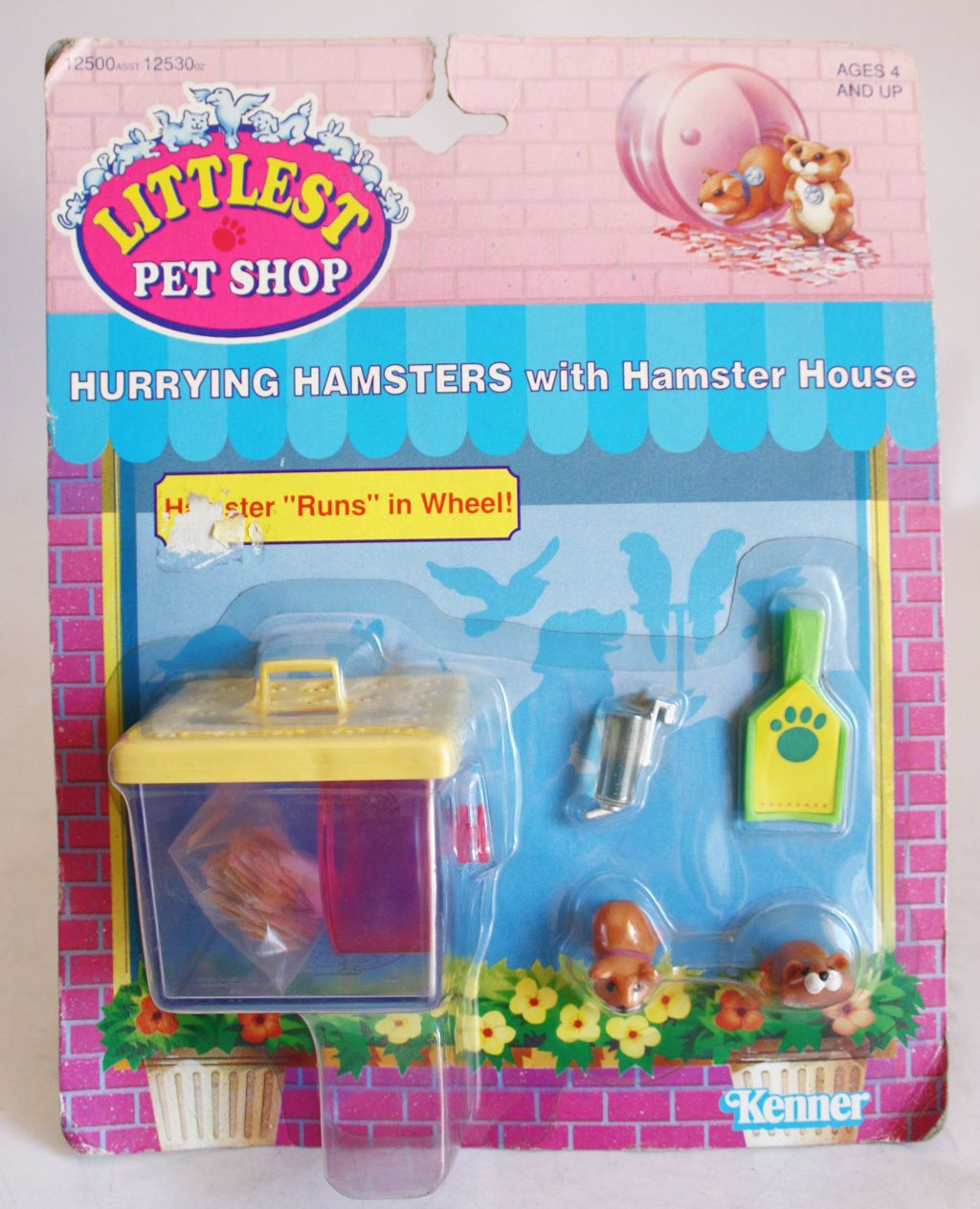 Littlest Pet Shop Hurrying Hamsters Toy Blast From The