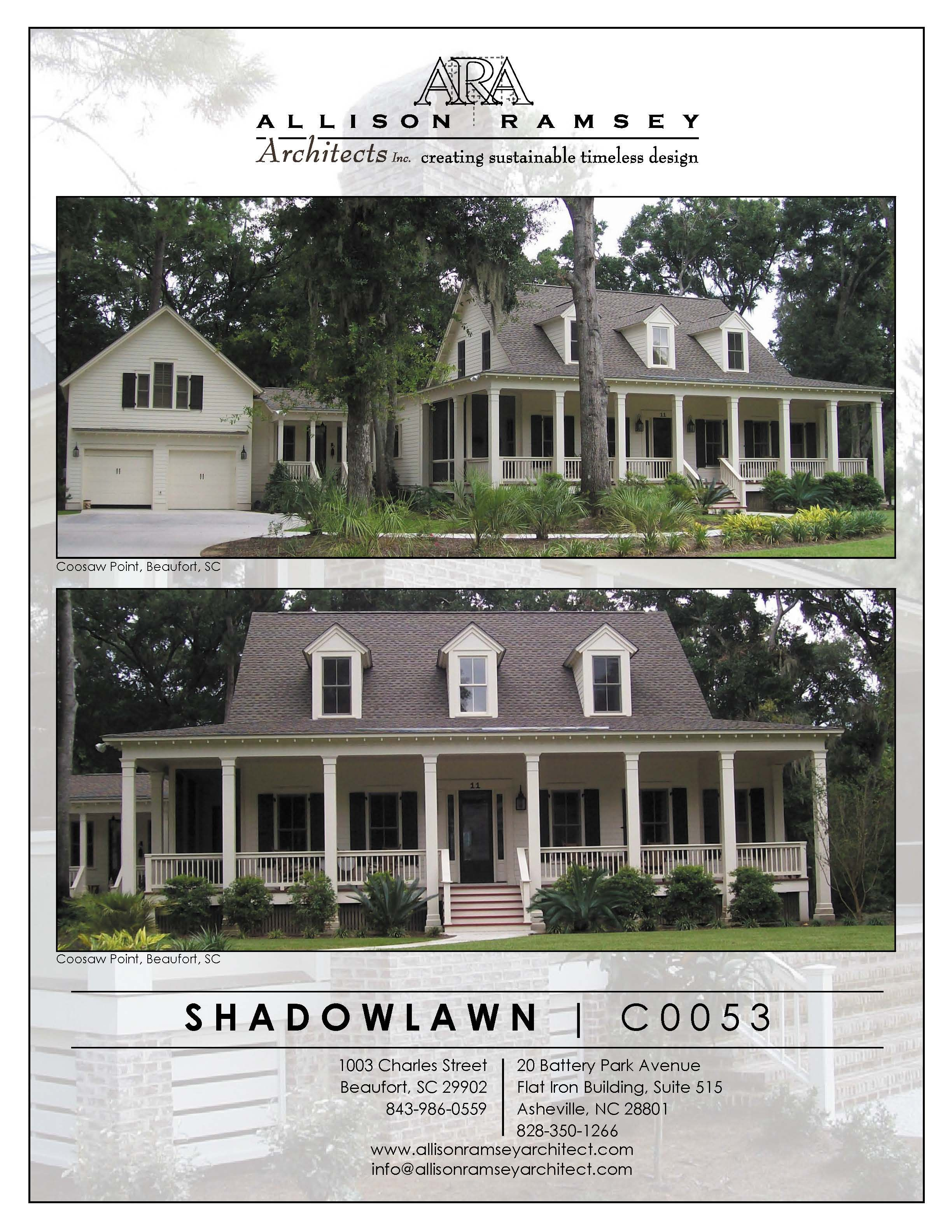 The Shadowlawn Project From Allison Ramsey Architects S Custom Homes Collection