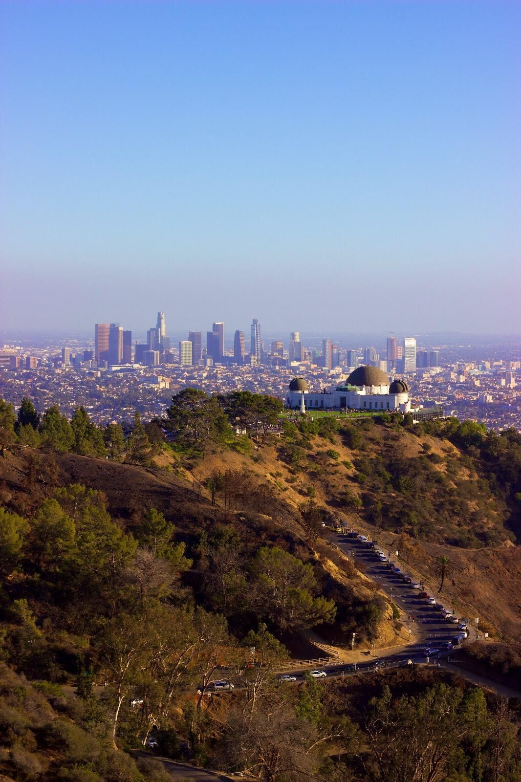 La Skyline From The Hollywood Sign Including Griffith Observatory From October 2018 Los Angeles California Photography California Travel Los Angeles Travel