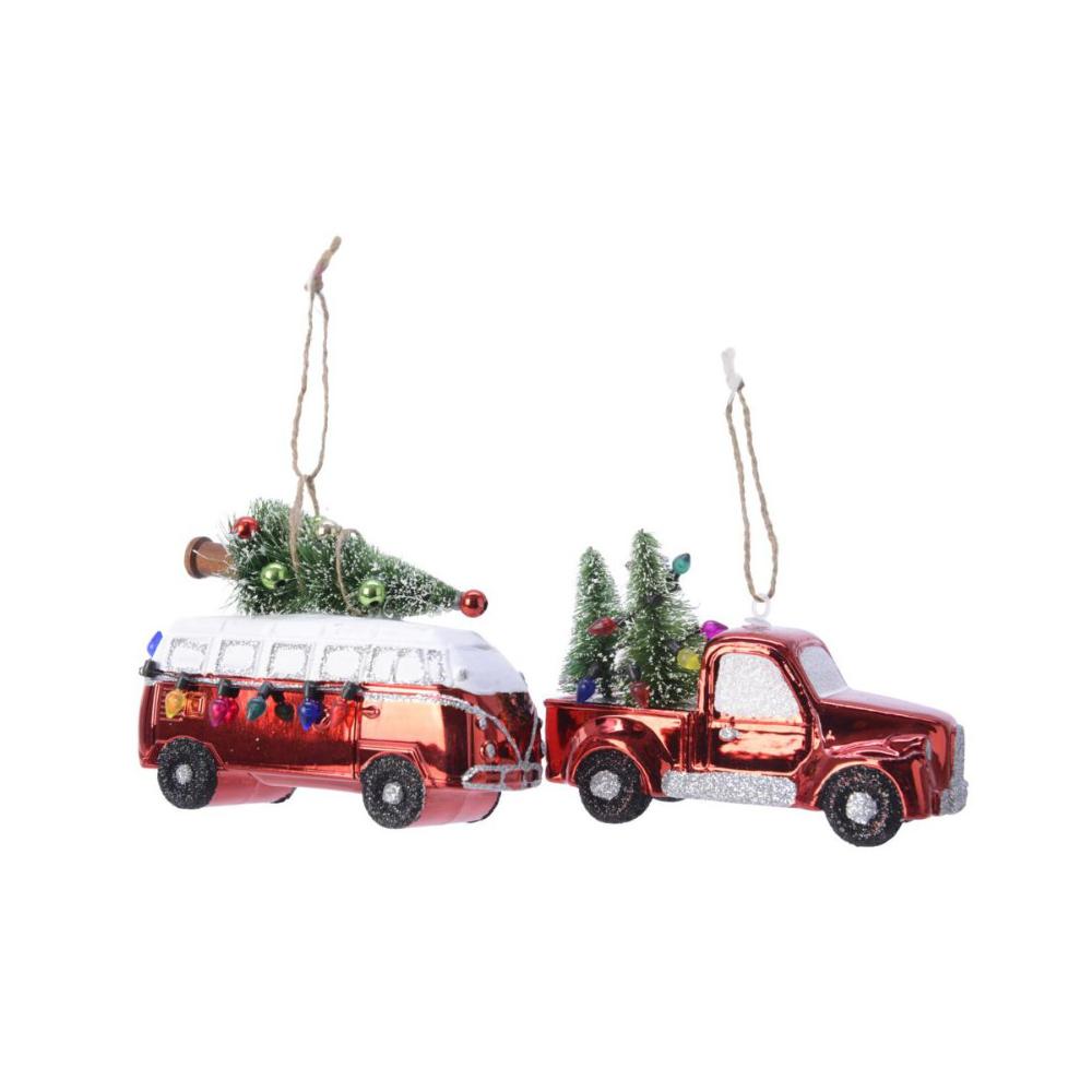 Bombka Mix Ciezarowka Van Z Choinka Bombki I Ozdoby Choinkowe W Atrakcyjnej Cenie W Sklepach Leroy Me In 2020 Christmas Ornaments Novelty Christmas Holiday Decor