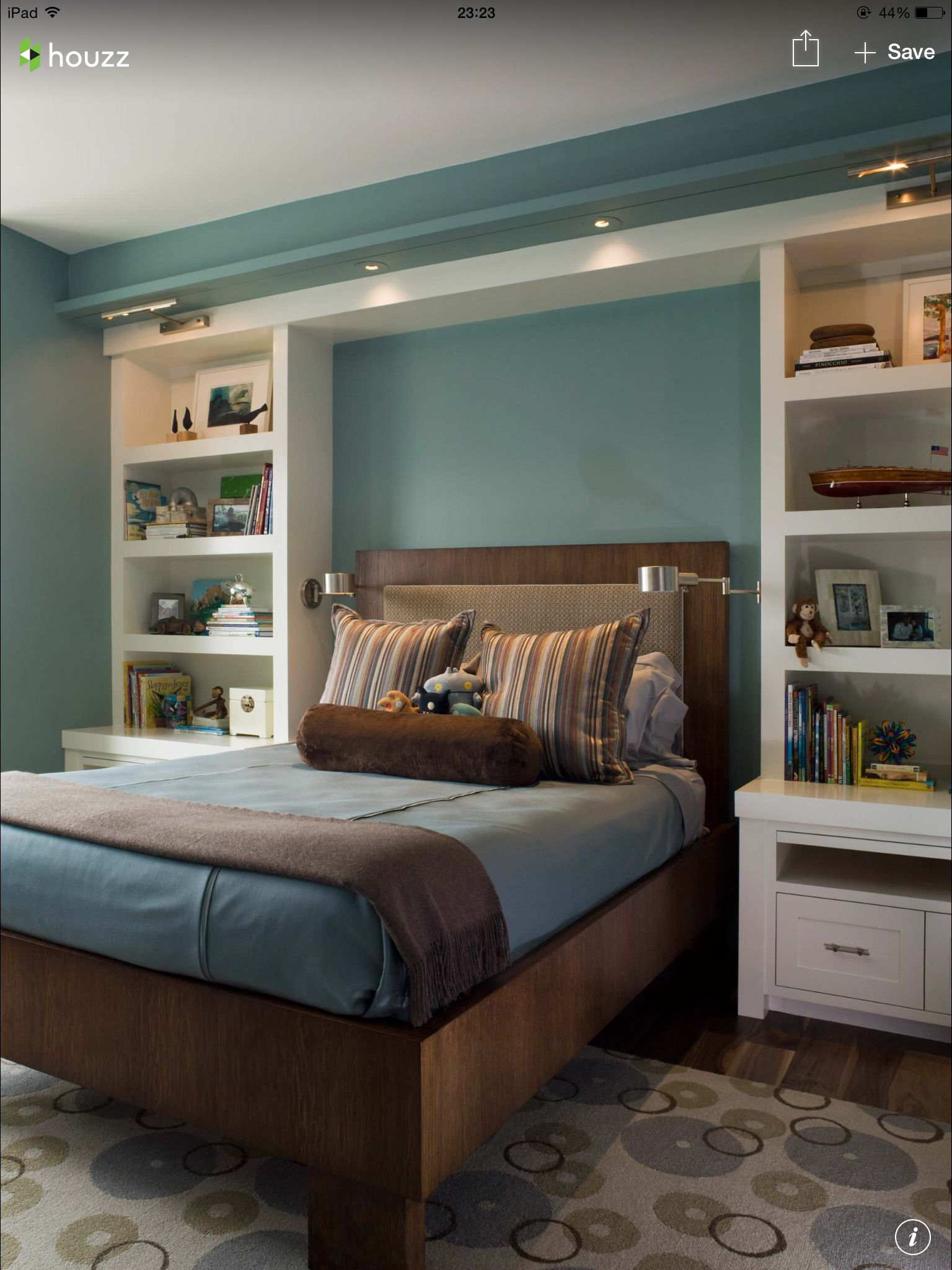 Librero/cabecera | Almacenamiento | Pinterest | Bedrooms, Decorating ...