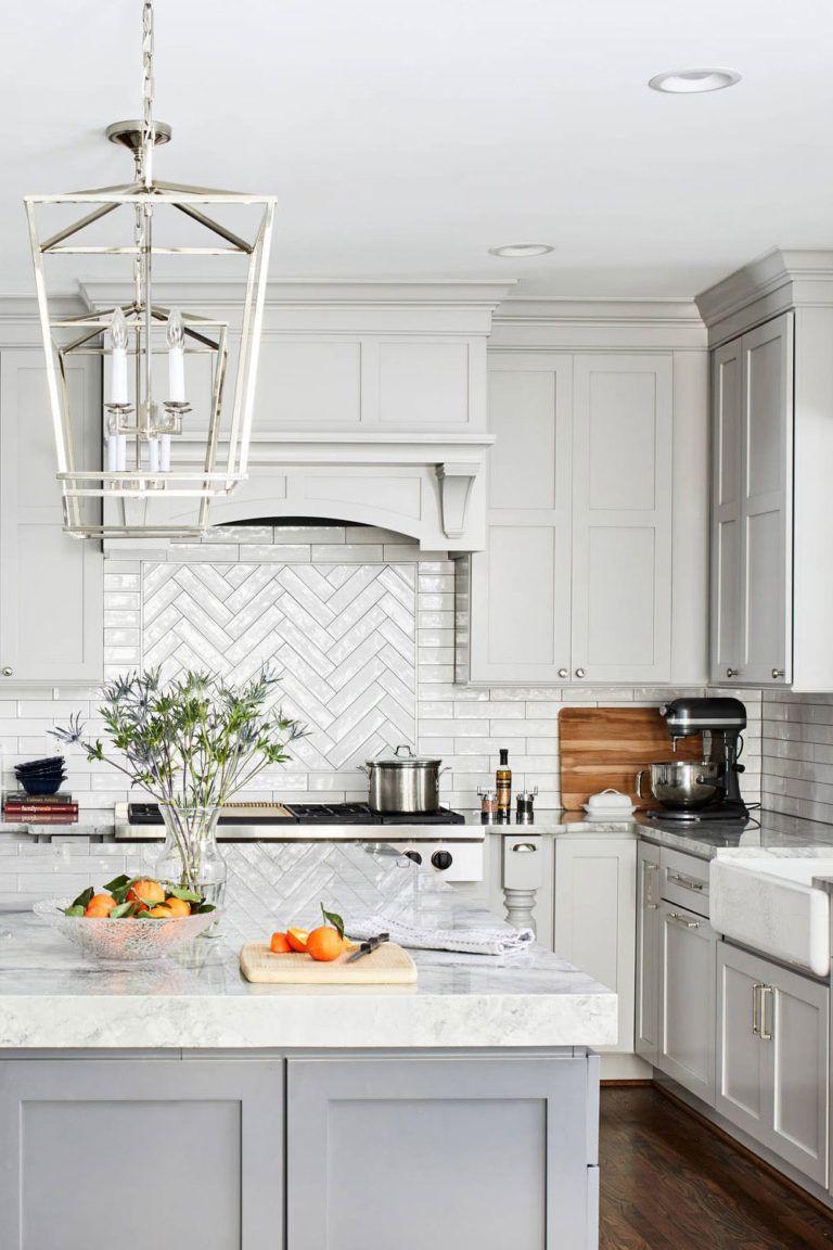 50 White Herringbone Backsplash Tile In Style White Kitchen In 2020 Herringbone Tile Backsplash Kitchen Remodel Small Herringbone Backsplash