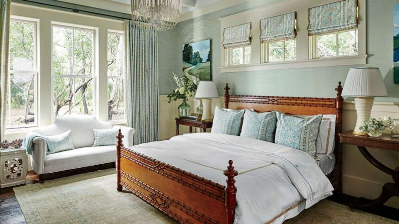 Our Dream Beach House Step Inside The 2017 Southern Living Idea House Southern Living Homes Coastal Bedrooms Beach Style Bedroom