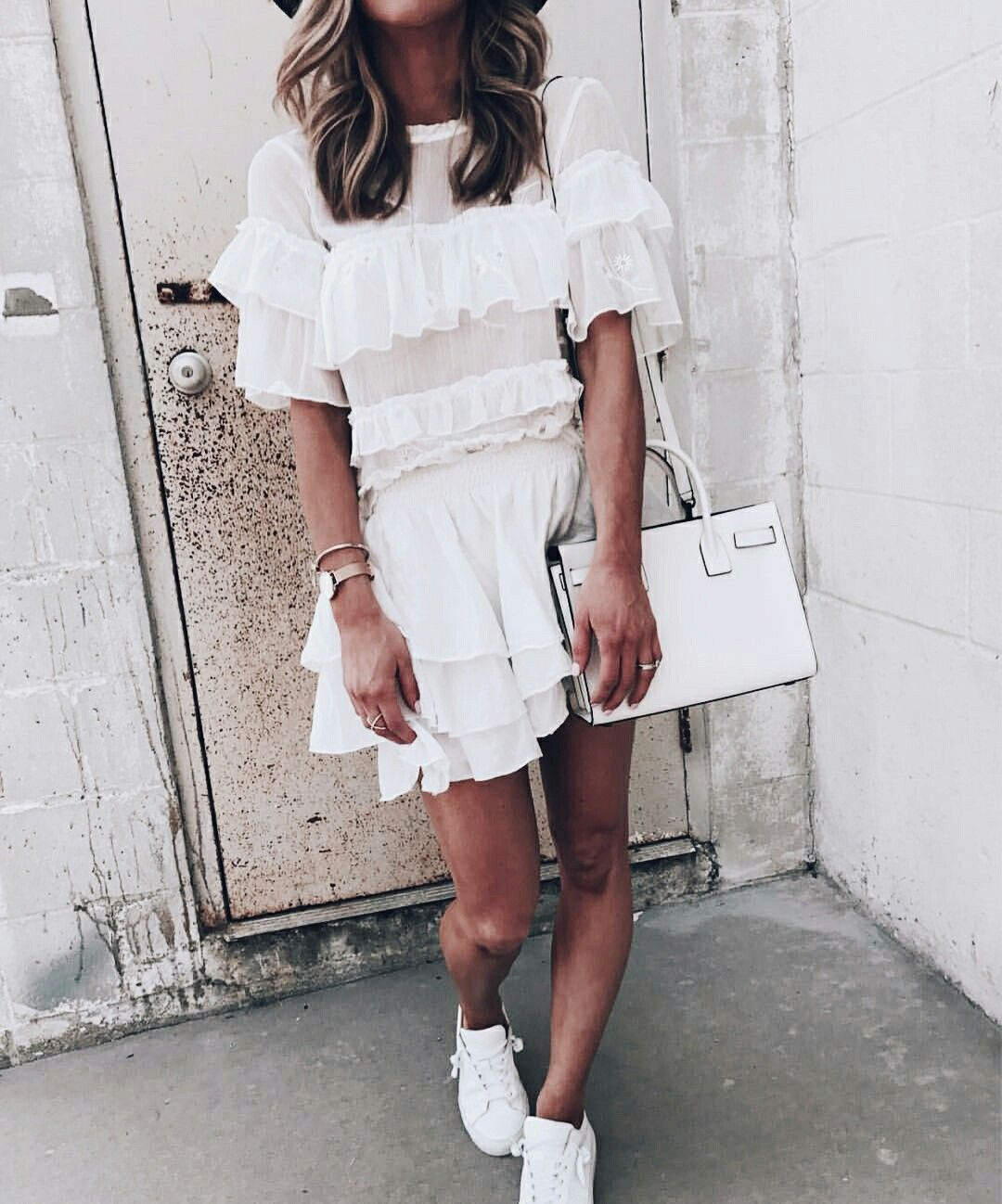 Pretty layered dress