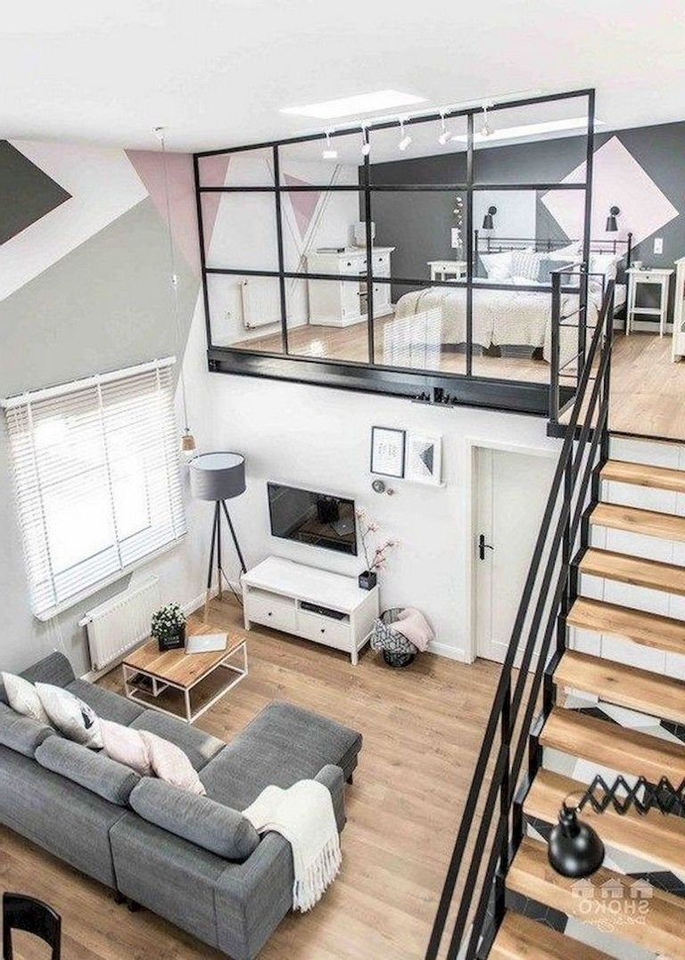 47 Stylish Loft Apartment Decorating Ideas In 2020 Woonkamer