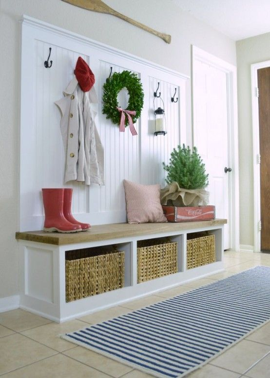 Ideas para decorar tu recibidor esta Navidad Pinterest