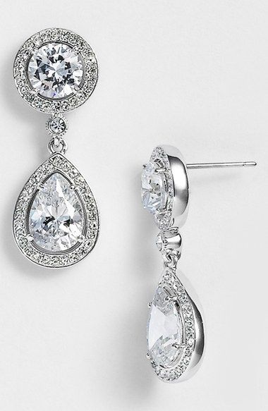 Nadri Crystal Cubic Zirconia Drop Earrings Nordstrom Exclusive Available At 80
