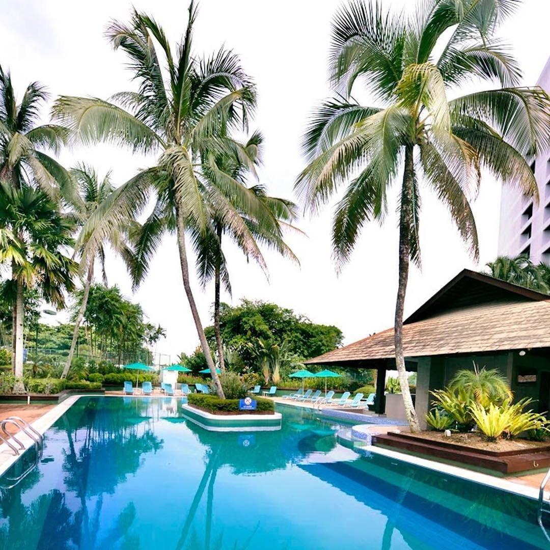 Poolside View Hilton Kuching Destinations Destination De Reve Conseils Pour Reussir